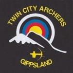 twin city archers gippsland logo